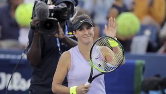 Keine Night Session, dafür im Achtelfinal: Belinda Bencic am US Open