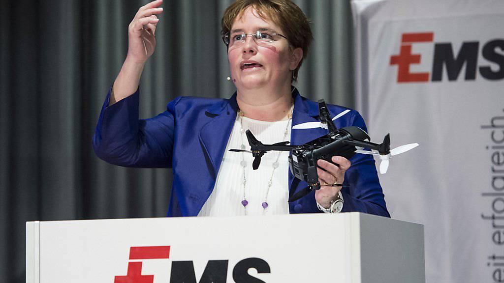 Magdalena Martullo soll fünf Mal reicher sein als alle Parlamentarier zusammen (Archivbild)
