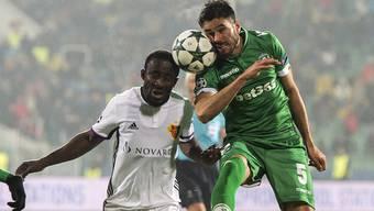 Impressionen vom FCB-Spiel in Sofia gegen Ludogorets