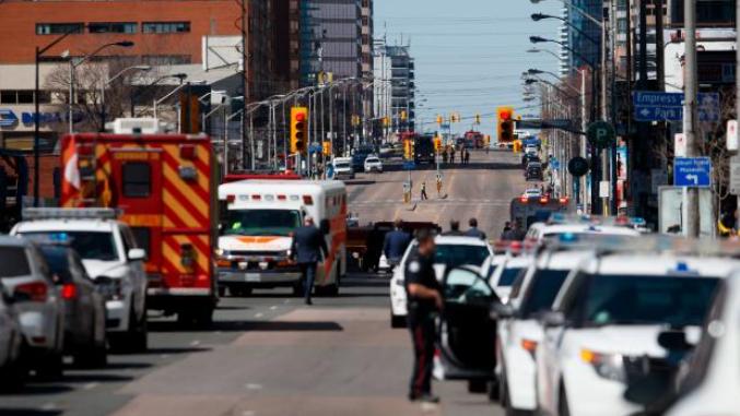 Tödliche Amokfahrt in Toronto