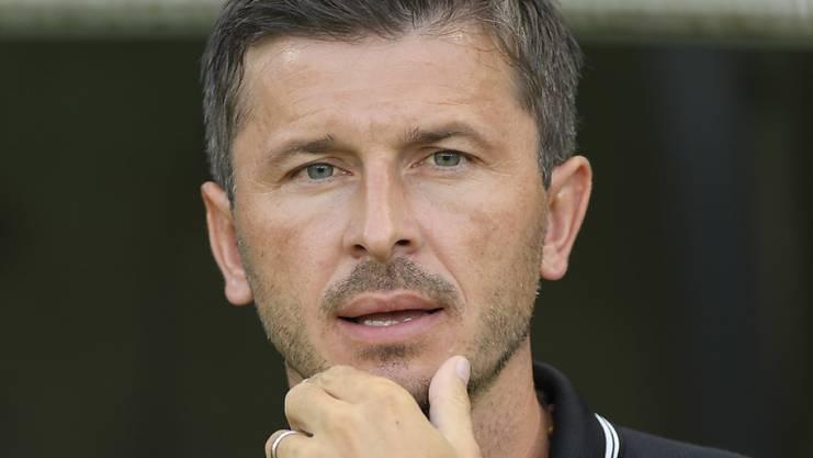 Marinko Jurendic startete mit dem FC Aarau mit viel Ambition in die neue Saison. Der grosse Erfolg blieb bislang aus.
