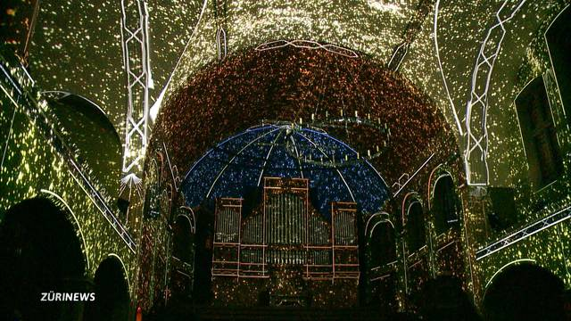 Licht-Spektakel in der St.-Jakob-Kirche