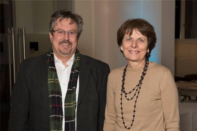 GLP-Nationalrat Beat Flach und Aarauer Stadtpräsidentin Jolanda Urech.