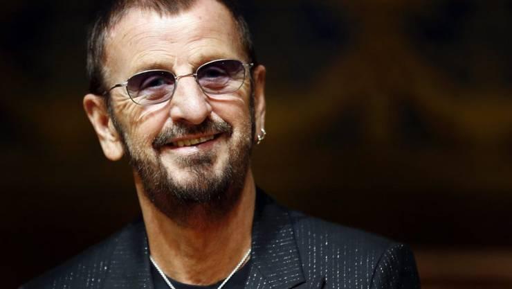 """Ex-Beatle Ringo Starr wird heute 75 und ruft zum alljährlichen """"Peace and Love""""-Ritual auf (Archiv)"""