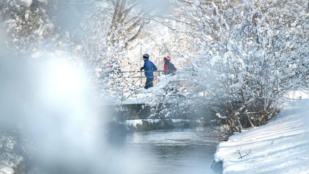 Joggen bei Frost ist nicht unbedingt gesund