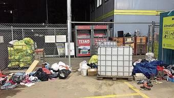 Bei der Rewag AG wird immer wieder illegal Abfall entsorgt.