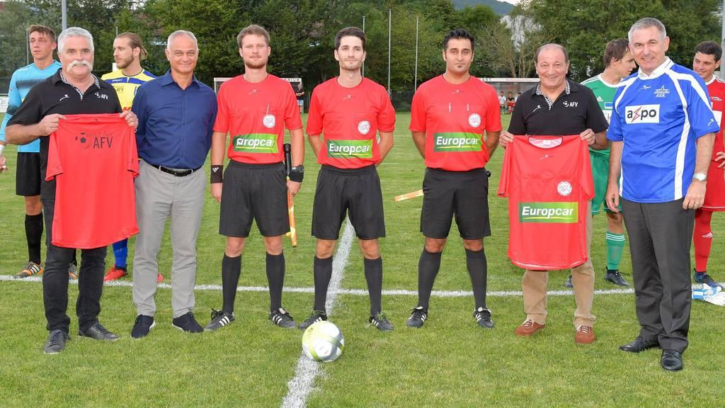 Fifa-Anpfiff für AFV