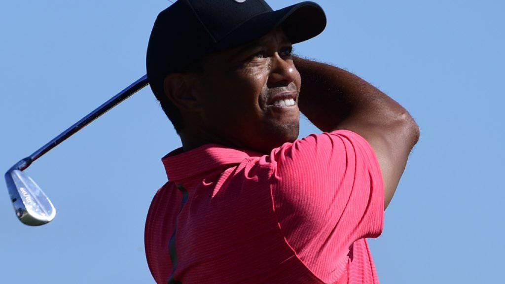 Tiger Woods will sich auf dem Golfplatz wieder ganz im Element fühlen