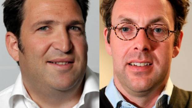 Daniel Gutenberg (l.) und Klaus Hommels: Die beiden Schweizer Investoren werden mit Facebook reich.