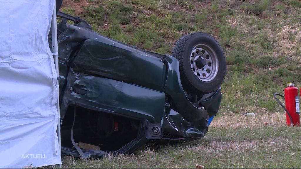 83-Jähriger stirbt bei Autounfall in Gansingen