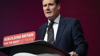 Der 57-Jährige Keir Starmer tritt die Nachfolge von Jeremy Corbyn als Chef der Labour-Partei an.