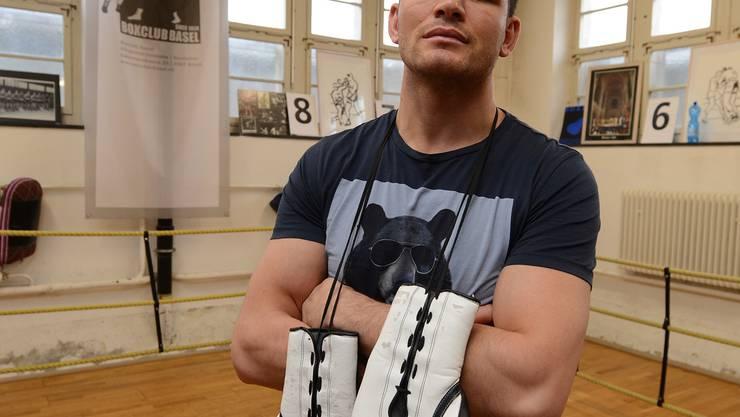 Wartet auf die grosse Chance: Arnold Gjergjaj ist mittlerweile die Nummer 17 Europas. Juri Junkov