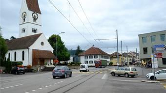 Gegen das Bauprojekt beim Böhlerknoten in Unterkulm gingen 60 Einwendungen ein. Rahel Plüss/Archiv