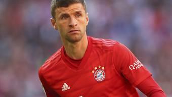 Thomas Müller spielt möglicherweise nicht mehr lange im Tenü des FC Bayern München