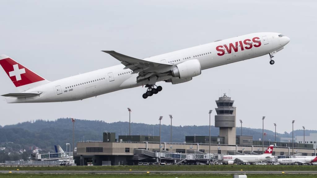 Winterflugplan des Flughafens Zürich mit neuen Destinationen