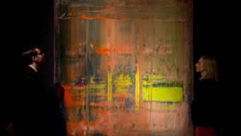 """""""Abstraktes Bild"""" von Gerhard Richter (Symbolbild)"""