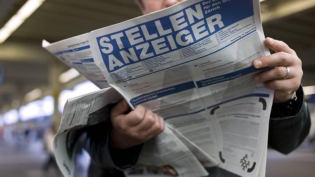 Schweizer Arbeitsmarkt auf dem Weg zum Vorkrisenniveau