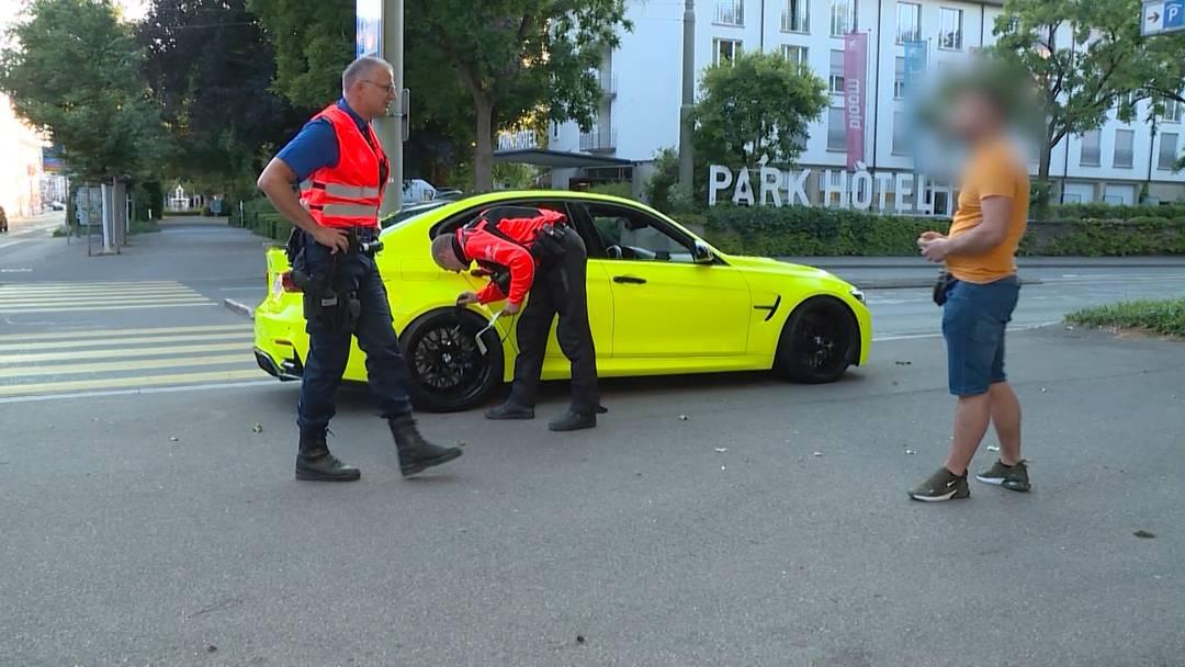Aargauer Polizei zieht mehrere Auto-Poser aus dem Verkehr