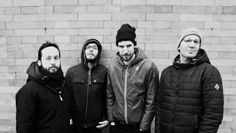Frana: Die Post-Hardcore-Band aus München spielt am Freitag am Solidaritäts-Konzert für Nepal im Coq d'Or.