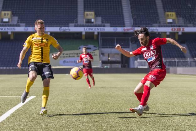 Erneut zeigt sich, dass der FCA seine Stärken vor allem dann ausspielen kann, wenn der Gegner mitspielt.