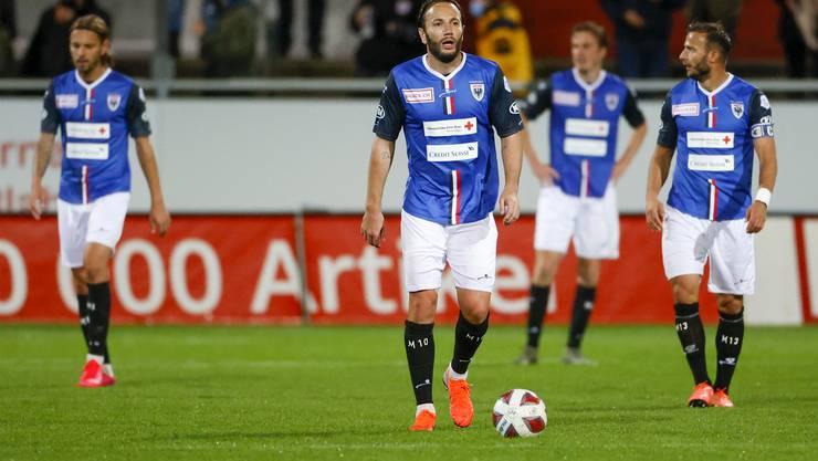 Shkelzen Gashi und Co. kassieren beim FC Winterthur die zweite Saisonniederlage.