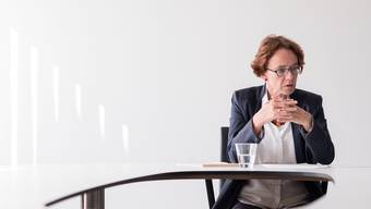Die Basler Finanzdirektorin Eva Herzog muss ohne Budget ins 2015 starten.