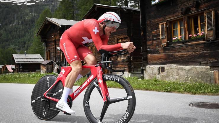 Stefan Küng - hier an der Tour de Suisse - will an der Heim-WM Grosses erreichen.