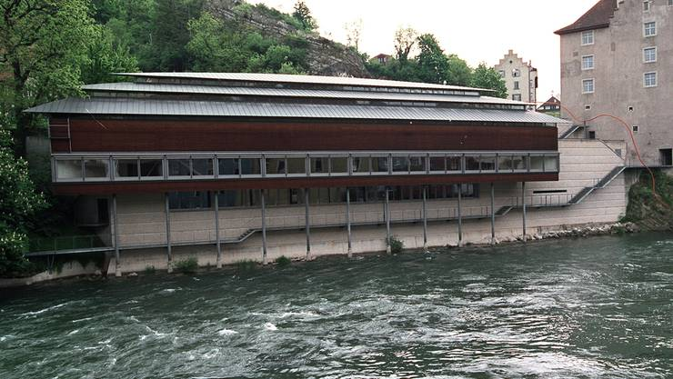«Melonenschnitz» und Landvogteischloss bilden ein Museum. Archiv