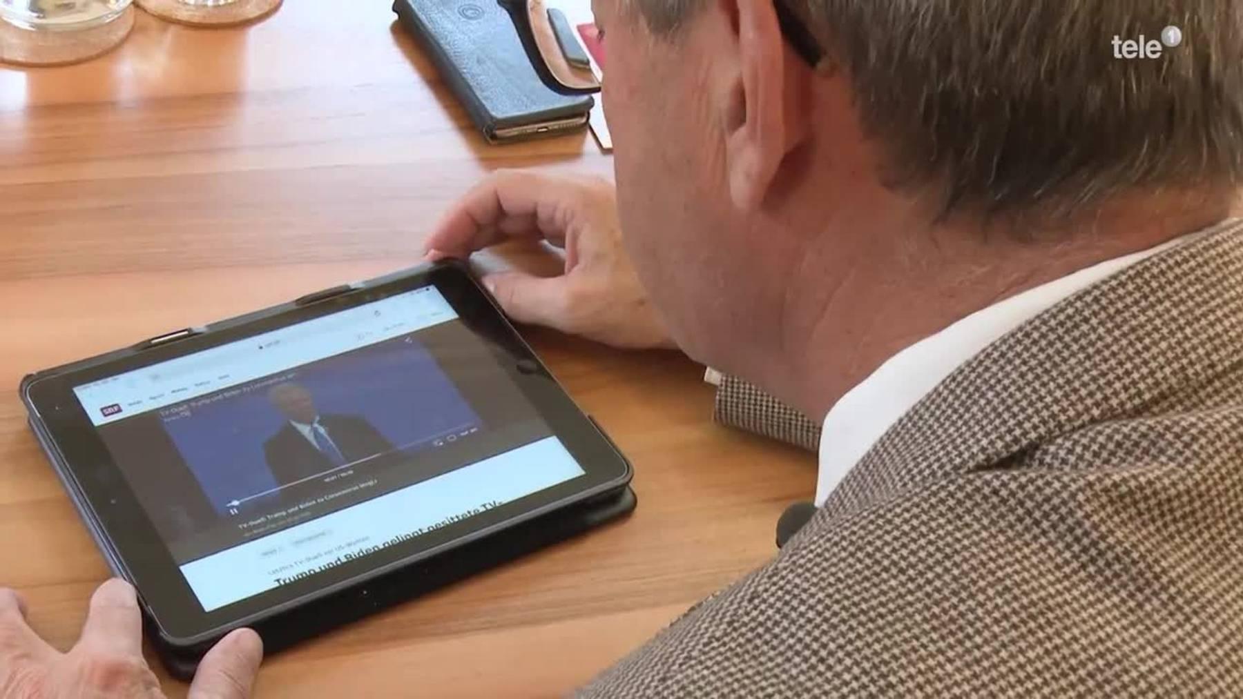Thumb for ‹201029_N_BER_Urner Ständerat Josef Dittli fliegt als Wahlbeobachter in die USA›