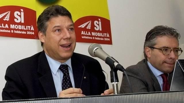 Die gewählten Tessiner Ständeräte Lombardi (l.) und Abate (Archiv)
