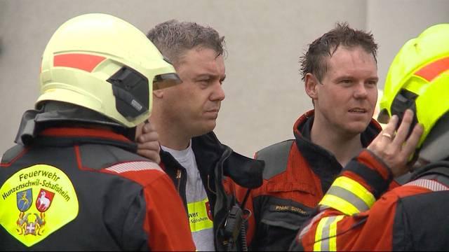 Familienvater bei Brand in Hunzenschwil schwer verletzt