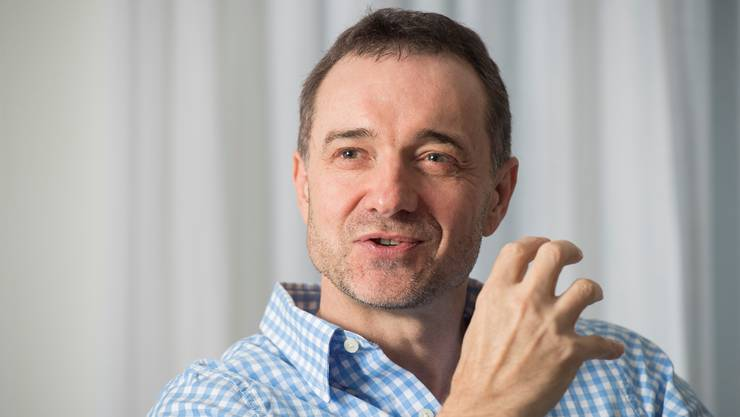 Unternehmer Guido Fluri engagiert sich sozial.Alex Spichale