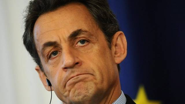 Präsident Nicolas Sarkozy hat genug (Archiv)