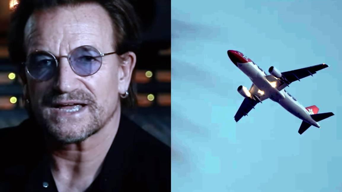 U2 und Kygo haben ohne zu fragen einen Edelweiss-Flieger in ihren neuen Clip eingebaut.