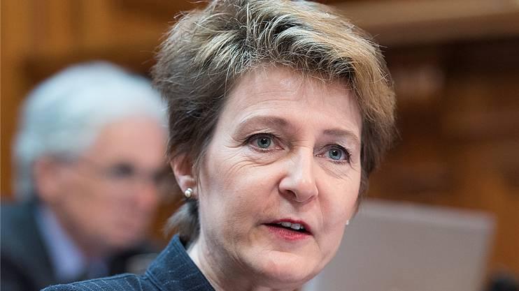 Die Schweizer Justizministerin Simonetta Sommaruga stellte am Mittwoch den Kesb-Bericht vor.