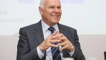 Swissmem-Präsident Hans Hess kann sich freuen, dass die Maschinen-, Elektron- und Metallindustrie wieder auf Hochtouren läuft. (Archiv).