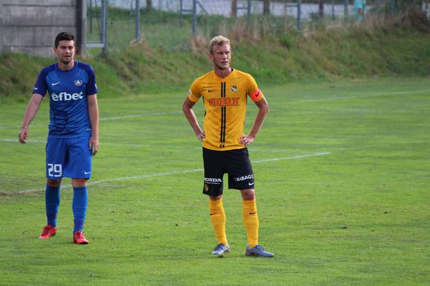 Und gleich Captain: Fabian Lustenberger, BSC Young Boys