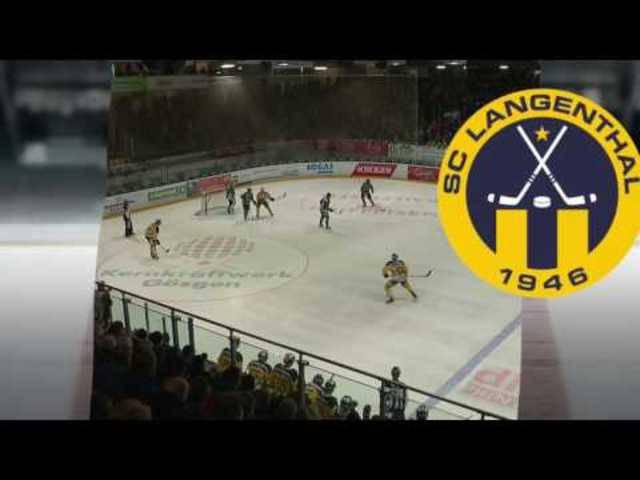 Die Highlights des Spiels EHC Olten - SC Langenthal 1:5, 10.02.2017