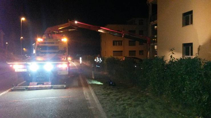 Unfall in Safenwil
