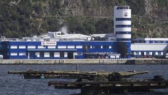 Hauptsitz von Europas grösstem Fischereikonzern Pescanova in Spanien