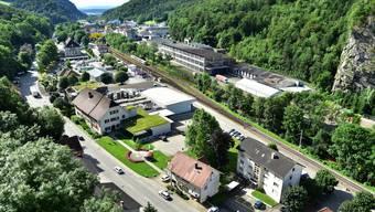 Nadelöhr geplante Umfahrung Klus Klus Balsthal ab Neu Falkenstein