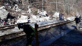 Bergsturz in Italien mit zwei Schweizer Todesopfern (01.04.18)
