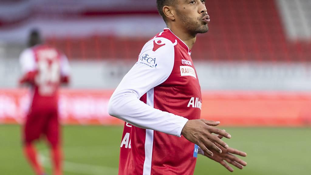 Guillaume Hoarau spielt auch in der kommenden Saison für den FC Sion