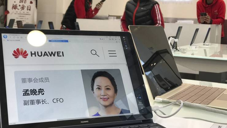 Huawai-Finanzchefin in Kanada verhaftet.