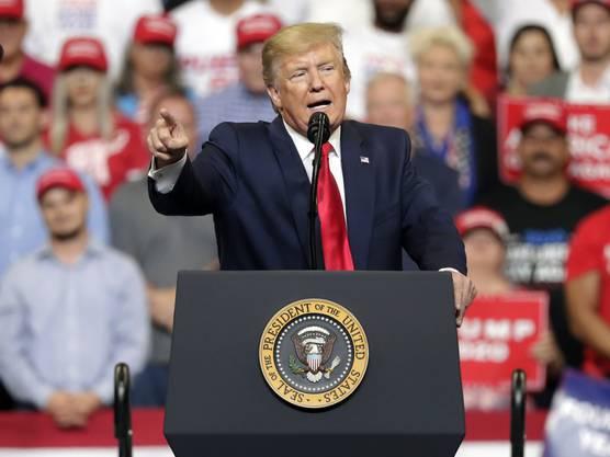 US-Präsident Donald Trump hat am Dienstagabend in Orlando den Startschuss für seinen Wahlkampf für eine Wiederwahl 2020 gegeben.
