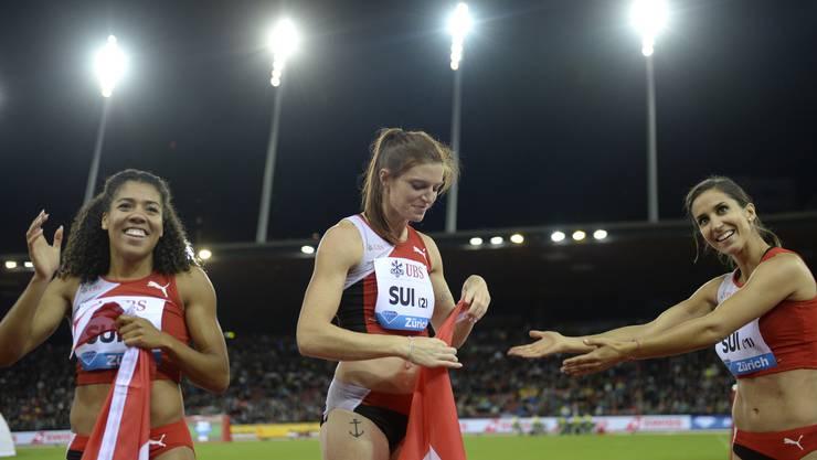Die Sprinterin gab vor kurzem bekannt, nach dem Auftritt in Zürich, nicht mehr für die Staffel zu starten.