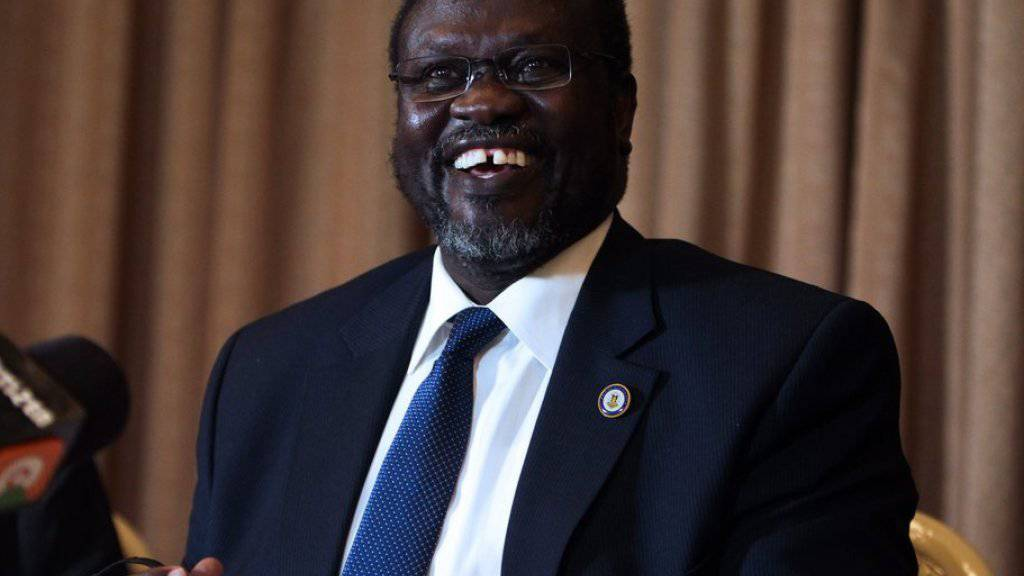 Der Anführer der Rebellen, Riek Machar, will sich doch nicht an einer Übergangsregierung beteiligen. (Archiv)