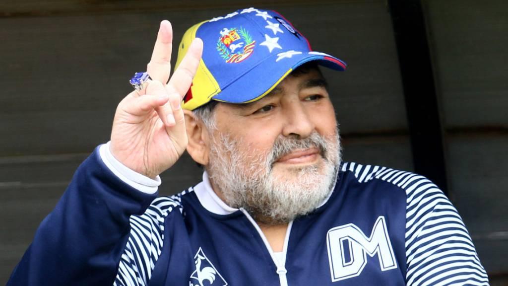 Wenn Corona und die «Hand Gottes» Maradonas Abstieg verhindern