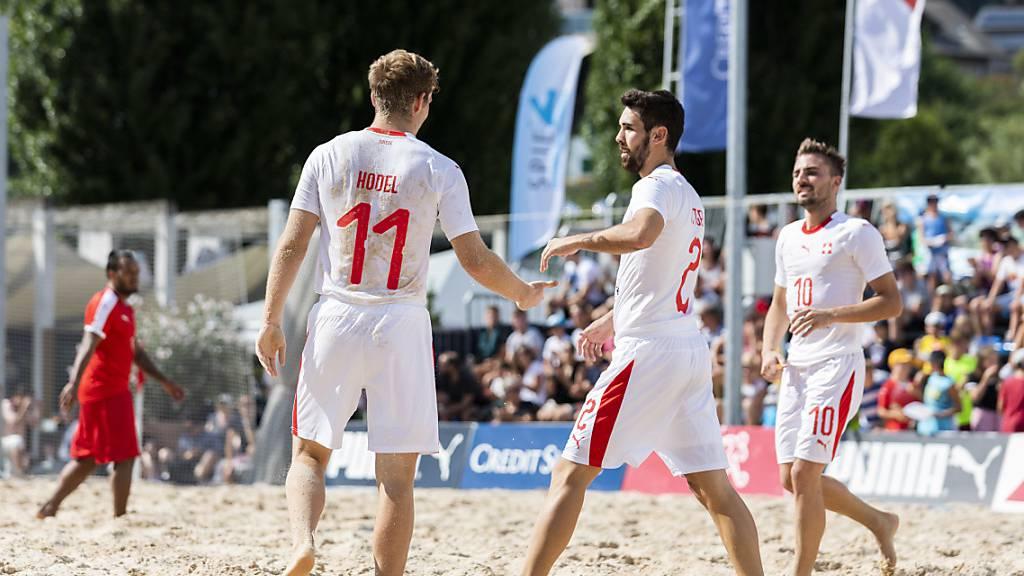 Die Schweizer Beachsoccer-Nationalmannschaft nimmt im November zum fünften Mal an einer WM teil