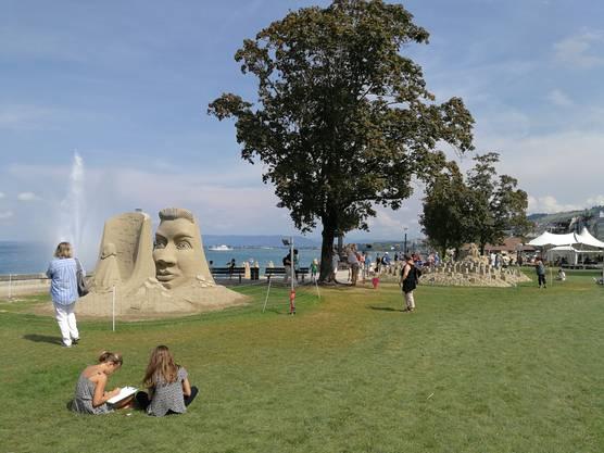 Sand-Skulpturen-Festival in Rorschach